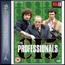 THE PROFESSIONALS - MKII **BRAND NEW DVD ***