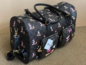 DISNEY MICKEY & MINNIE MOUSE HOLDALL/WEEKEND BAG - OFFICIAL - BNWT- NEW