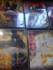 Gankutsuou The Count of Monte Cristo Anime DVD volumes 1-6 episodes 1-24