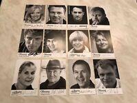 Ohnsorg Theater UH 12 Autogrammkarten original signiert Mahler Ketelhut AK 26