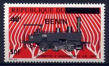 Benin 2009 Eisenbahn/Aufdruck 50F Trains Railways Freimarke Postfrisch MNH