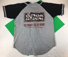 RARE VINTAGE EXTREME BY MCGWIRE OFFICIAL WEAR BASEBALL SHIRT JERSEY 90S RETRO
