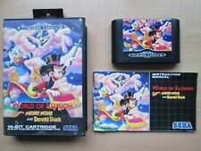 SEGA Megadrive - World of Illusion  - Boxed & Manual INCLUDED