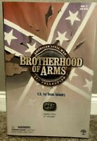 "Sideshow Brotherhood Of Arms 12"" 'CS 1st Texas Infantry'. Mint In Box"