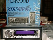 OLD SCHOOL KENWOOD KDC- MP919 CD-RECEIVER!!  3-SETS OUTPUTS!!  RARE SQ,  NEW!!