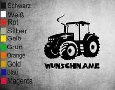 """Wandtattoo ,Stiker """" Traktor mit Wunschname"""" Kinderzimmer"""