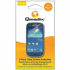 Qmadix Screen Protector for Samsung S3 Mini - Retail Packaging - Clear
