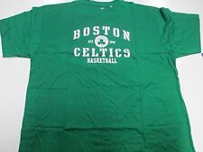 Boston Celtics NBA Men Majestic Big & Tall Green Short Sleeve Tee
