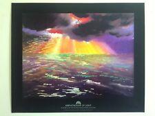 AMPHITHEATER OF LIGHT 1984 OLYMPICS RARE LITHOGRAPH PRINT PETER ALEXANDER POSTER
