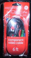 Ge Component Video Cable, 6' #33296