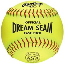 "Rawllings Dream Seam 11"" Asa Leather Fastpitch Softball C11Ryla"