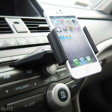 Car Auto CD Slot Mount Cradle Holder Stand For iphone X/8 Plus Smart Phone GPS