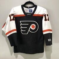 VINTAGE CCM Philadelphia Flyers Jeff Carter #17 NHL Jersey Size Youth S/M