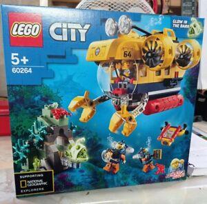 60264 LEGO City Ocean Exploration Submarine Playset 286 Pieces Age 5 Years+