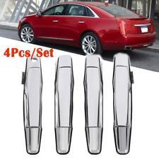 Chrome Exterior Door Handle for 07-13 Chevrolet GMC Front/Rear LH & RH 4Pcs/ Set