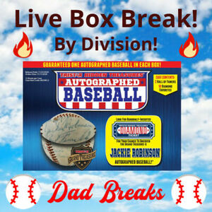 NL WEST (5 MLB TEAMS) TriStar 2020 autographed/signed Baseball LIVE BOX BREAK