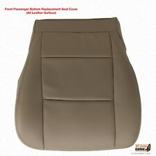 2001 2002 Toyota Tundra PASSENGER Bottom Leather Replacement Seat Cover TAN