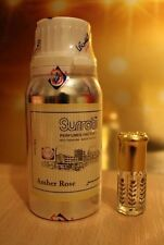 AMBER ROSE 12ML BY SURATI EXCLUSIVE PERFUME OIL-ATTAR-AMBER-ROSE