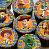 24 x TOY STORY PREMIUM QUALITY CUPCAKE TOPPERS EDIBLE RICE WAFER PAPER 3587