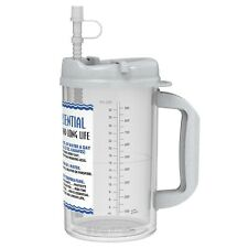 32 oz Insulated Water Essential Mugs with Straw and Cap | Hospital Mugs
