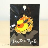 Pokemon Center Original Eevee Collection Colorful Pin badge Flareon Pins Japan