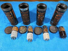 DeForest DL-3, DL-4 ,DV-2, DV-3 all NOS in their original can tube