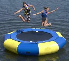4M(13') Diameter Inflatable Water Trampoline Bounce Swim Platform Lake Toy A