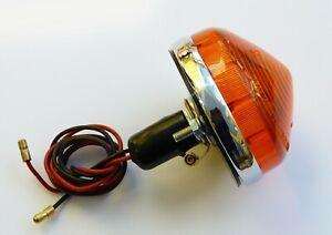 Lucas L691 Amber Flasher Lamp. for; Triumph, Imp, Healey, Scimitar, Morgan etc