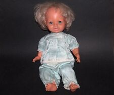 RARE VINTAGE PIPIOU? POUPEE BELLA BABY CRYING DOLL, MADE IN FRANCE