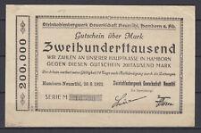 Hamborn-Neumühl - Steinkohlenbergwerk Sindacato Neumühl - 200 Mille Marchi