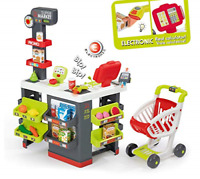 Smoby 350213 Kids Supermarket Playset with 42 Accessories inc. Cash Register