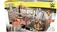 WWE Wrekkin NXT TakeOver War Games rings playset with Accessories new boxed