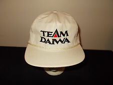 VTG-1990s Team Daiwa Fishing tackle rods lure reels rope snapback hat sku29
