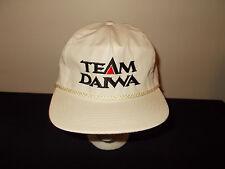 VTG-1990s Team Daiwa Fishing tackle rods lure reels rope snapback hat sku29