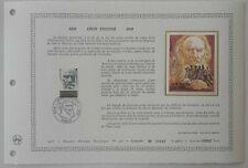 Document Artistique DAP 332 1er jour 1978 Léon Tolstoï Ecrivain