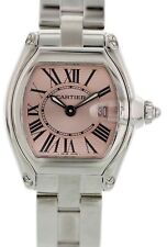 Cartier Roadster Pink Dial 2675 Ladies Watch