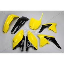 UFO Body Kit Complet Jaune-Noir Suzuki VPM 250 14-17