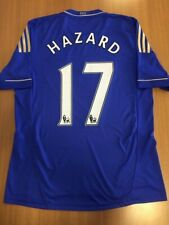 Hazard 17. Chelsea Home football shirt 2012 - 2013. Size: L. Adidas camiseta