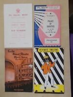 JOB LOT 1960's YORKSHIRE THEATRE PROGRAMMES LEEDS WHITBY BRIDLINGTON SCARBOROUGH
