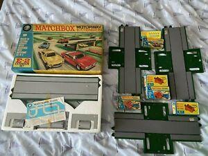 Matchbox Motorway accessories
