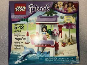 NEW Unopened Box RETIRED LEGO Friends Emma's Life Guard Post set 41028