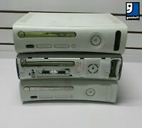 Microsoft Xbox 360 White Console ~ Lot of 3 ~ FOR PARTS