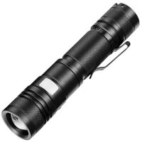 T6 Zoomable Military Tactical 20000Lumens 18650 USB Flashlight Torch LED Lamp