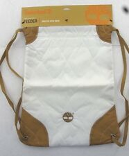 NEW Timberland Hub Collection Feeder Quilted Nylon Gym Sack w/Defects