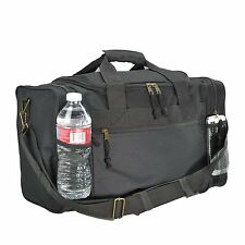 """Duffle Duffel Bag Sport Travel Carry-On Workout Gym Red Black Blue Gold Gray 17"""""""