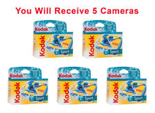 5x Kodak Underwater Disposable Camera Sport Waterproof 35mm Film 27Exp 2017