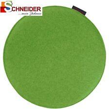 Stuhlkissen Avaro rund beidseitig grün 35 Cm Durchmesser