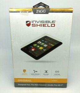 """Zagg Original Invisible Shield For Amazon Kindle Fire HD 7"""" NEW"""
