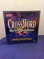 Crossword New York Times Sunday Puzzle Game Sealed Package