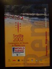 FISA World Rowing Championships Souvenir Programme, Seville 2002